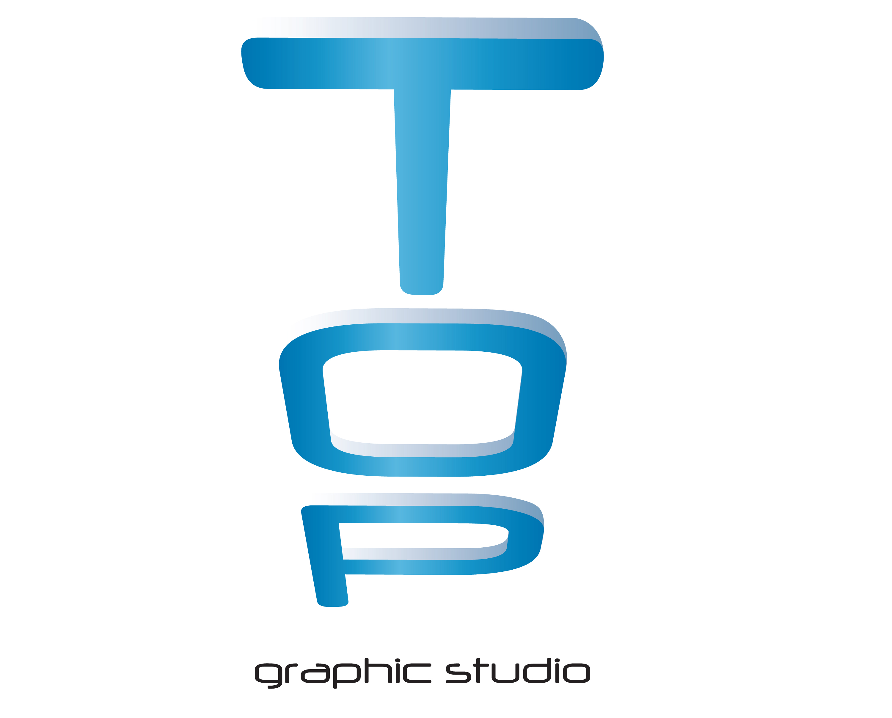 Logo design for a conceptual graphic design studio