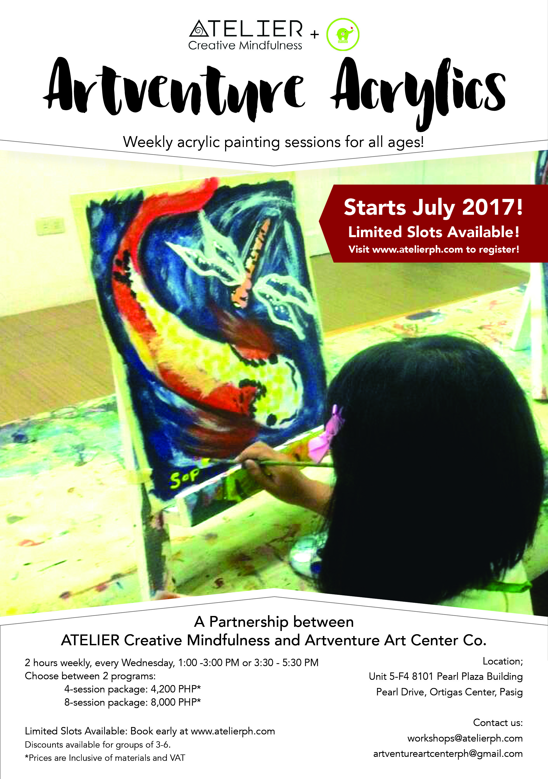 Artventure Workshop Promos