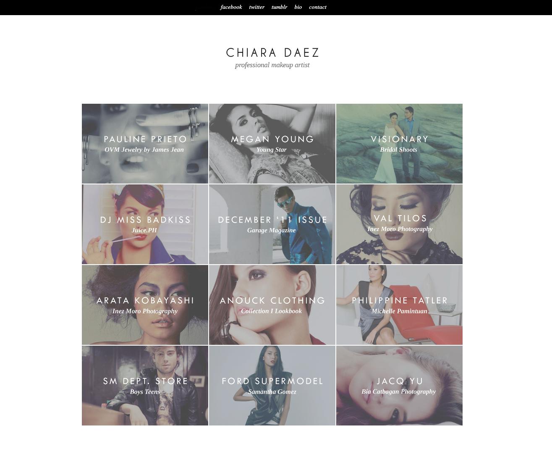 Chiara Daez: Portfolio Page
