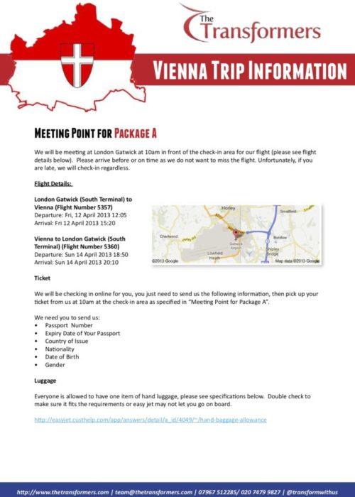 Vienna Information