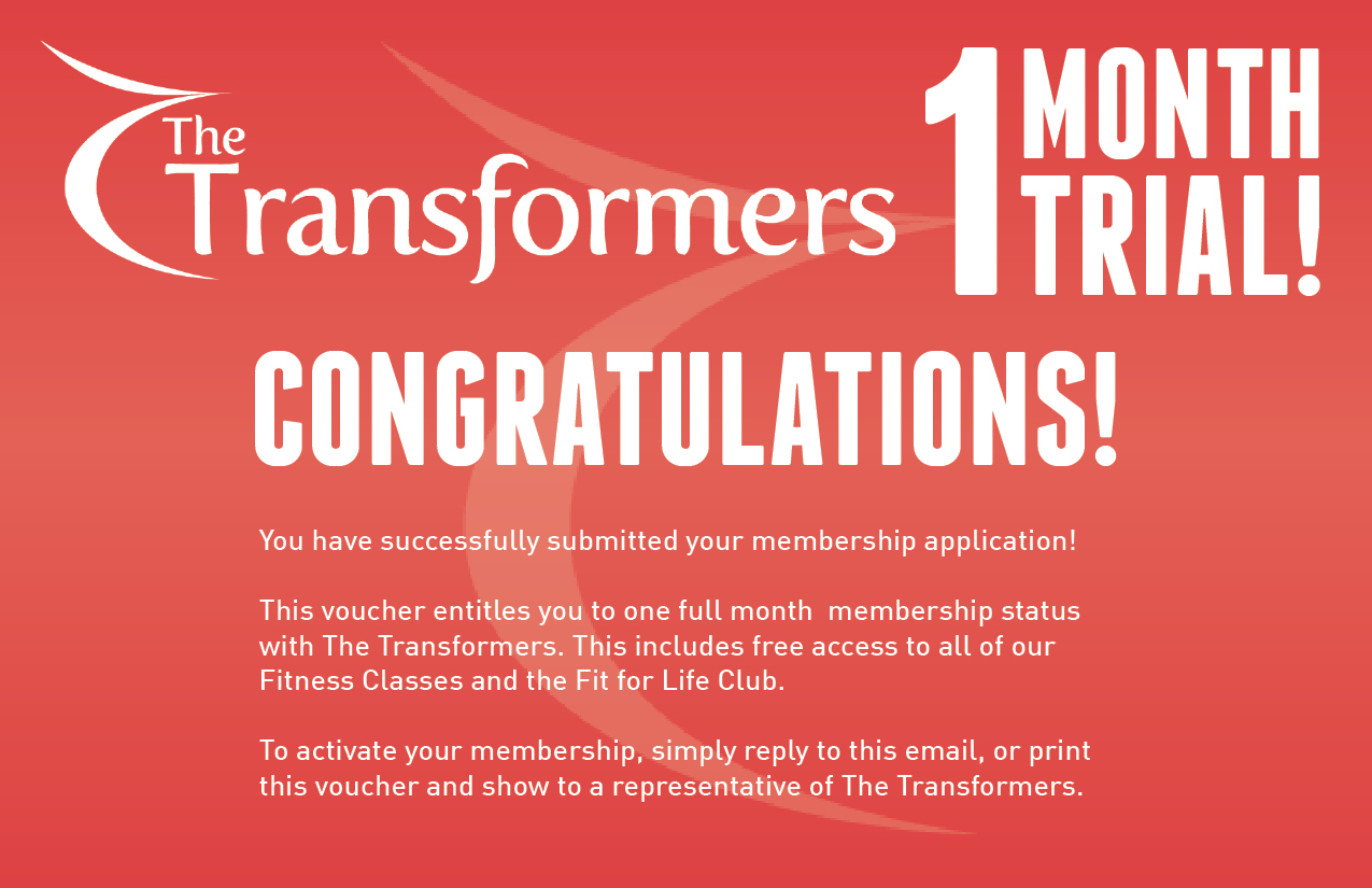 Transformers Fitness Projects